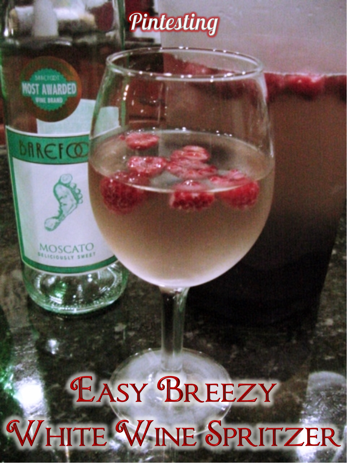 Pintesting Easy Breezy White Wine Spritzer