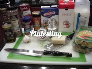 Tomato Tortellini Soup Ingredients