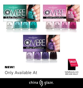 Ombre Nails - China Glaze Sets All colors