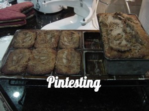 Amazing Amish Cinnamon Bread - Done baking