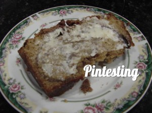 Amazing Amish Cinnamon Bread - Plated to eat