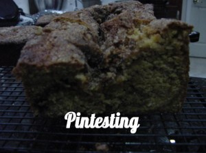 Amazing Amish Cinnamon Bread - Sunken middle