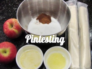 Mini Apple Pies - Ingredients - Pintesting