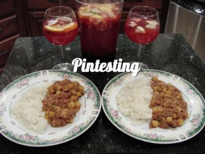 Sangria - Cinco de Mayo Supper Pintesting