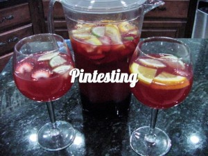 Sangria - Finished Pintesting