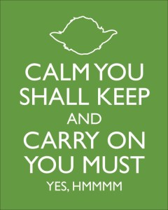 Calm You Shall Keep