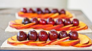 Pintesting Peach and Cherry Tarts - ORIGINAL PIN