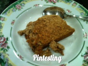 Baked Pumpkin Pie Oatmeal Done - Pintesting