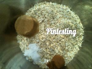 Baked Pumpkin Pie Oatmeal Dry Ingredients - Pintesting