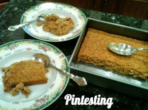 Baked Pumpkin Pie Oatmeal Serve - Pintesting