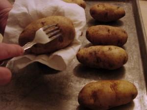 Outback Style Baked Potato - Pierced