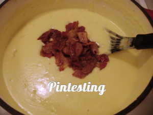 Baked Potato Soup - Add Bacon - Pintesting