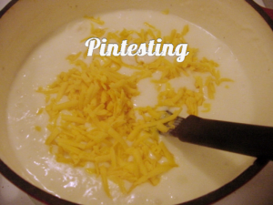 Baked Potato Soup - Add Cheese - Pintesting