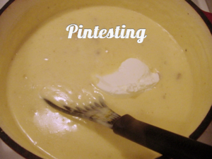Baked Potato Soup - Add Sour Cream - Pintesting