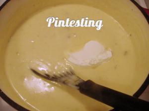 Baked Potato Soup - Add Sour Cream - Pintesting