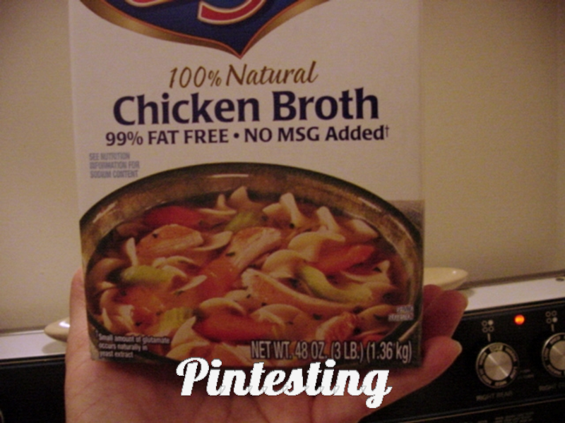 how to fix watery chicken soup
