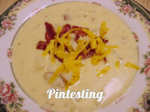 Baked Potato Soup - Yum - Pintesting