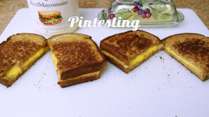 Grilled Cheese Cook-off - Grilled Cheese Sandwiches - Pintesting