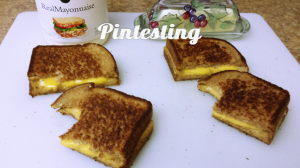 Grilled Cheese Cook-off - Grilled Cheese Taste Tested - Pintesting