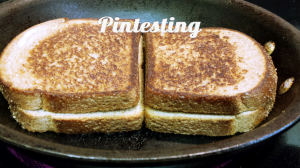 Grilled Cheese Cook-off - Second Side - Pintesting
