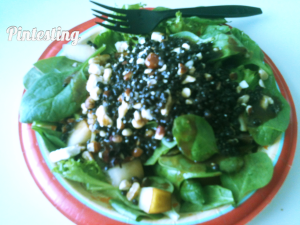 Salad Swag - The Frenchie Lentil Served - Pintesting