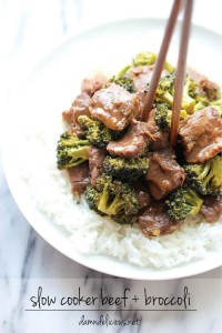 Slow Cooker Beef and Broccoli - Original Pin