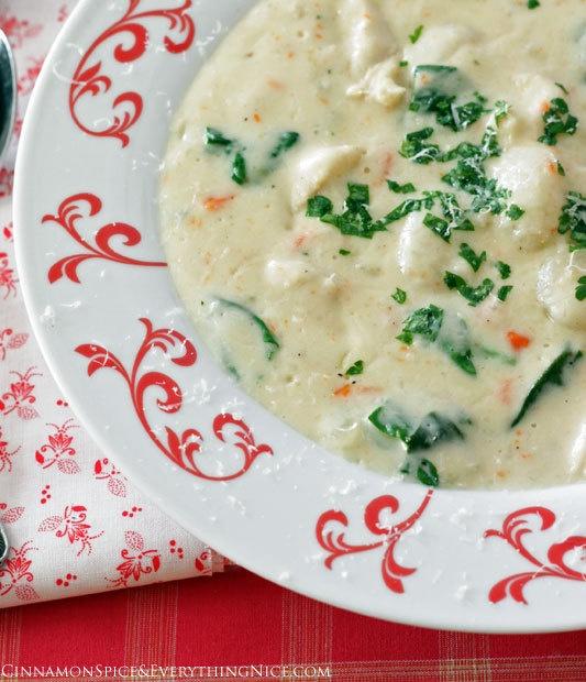 Chicken Gnocchi Soup Olive Garden Copycat
