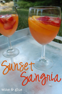Sunset Sangria - Original Pin