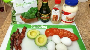 Egg Salad BLTA Sandwich Ingredients
