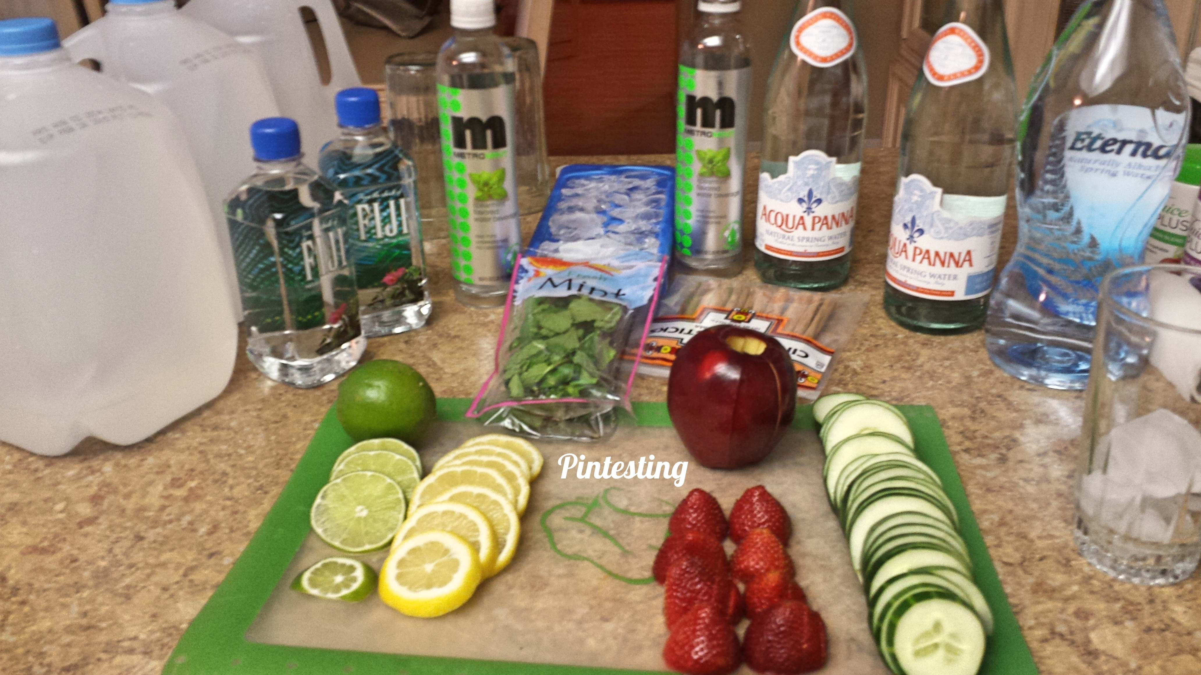 Pintesting - Infused Water Bar - All
