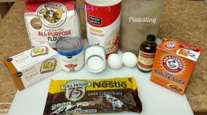 Pintesting - Oatmeal Fudge Bars - Ingredients