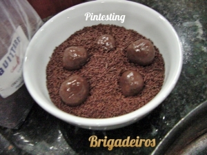 Pintesting Brigadeiros