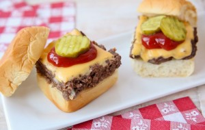 Pintesting Easy Cheeseburger Sliders - ORIGINAL PIN