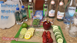 Pintesting - Infused Water Bar