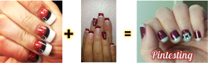 Pintesting Santa Nails Manicure