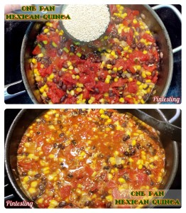 Pintesting One Pan Mexican Quinoa