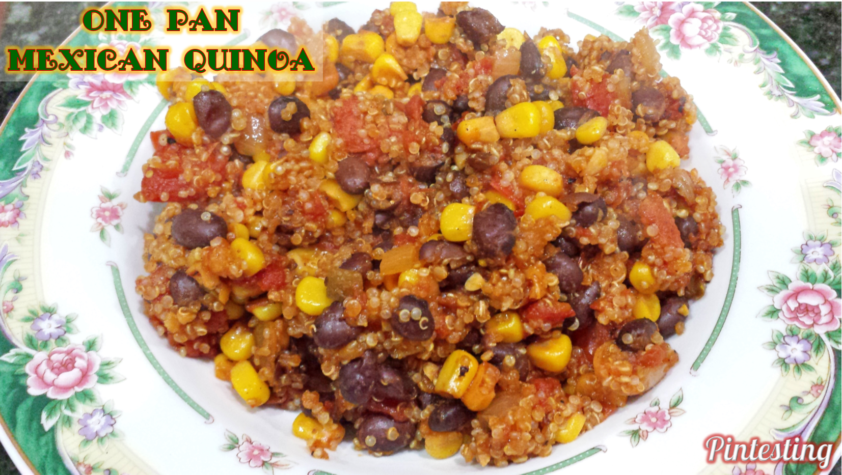Pintesting One Pan Mexican Quinoa