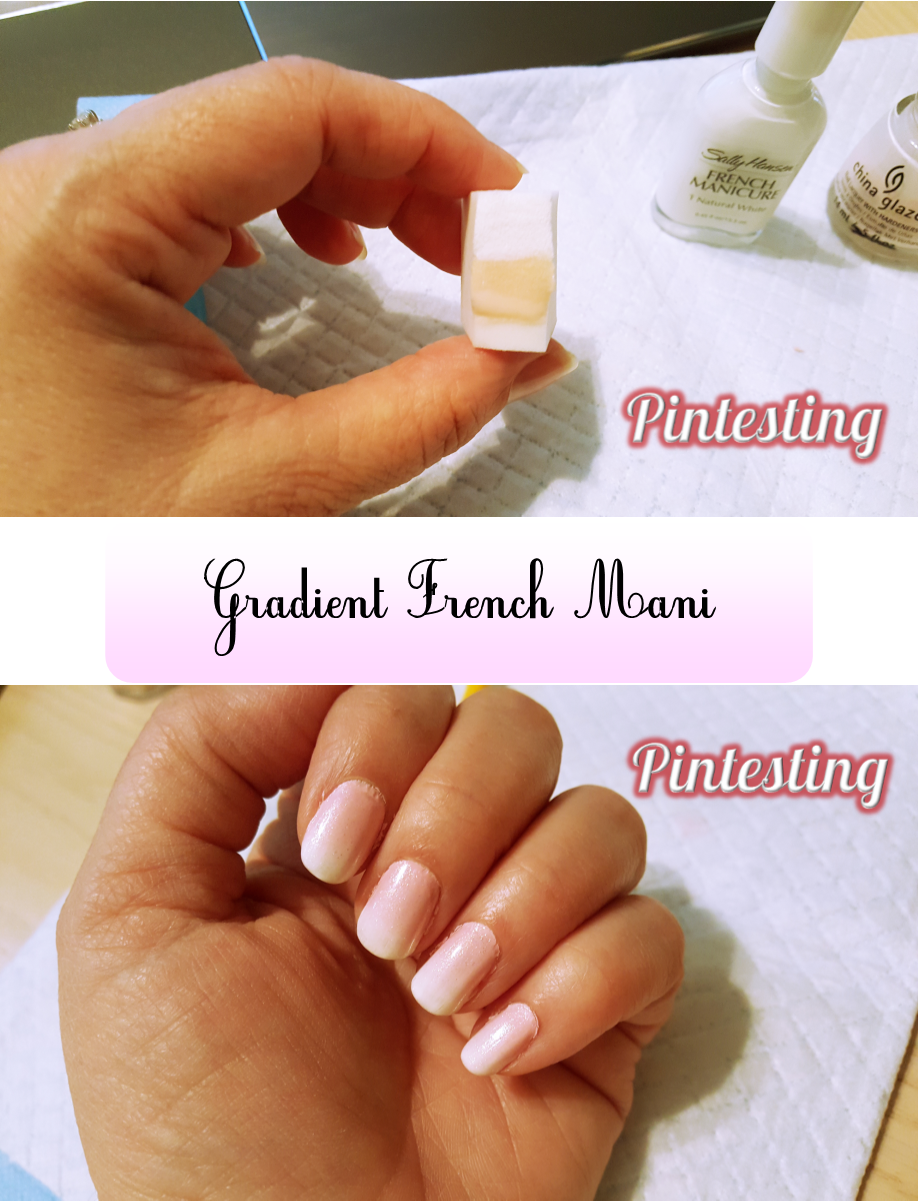 Gradient French Manicure: Gradient French Mani