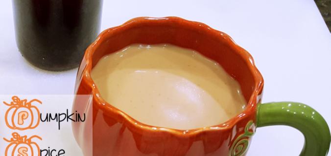 Pintesting Pumpkin Spice Syrup