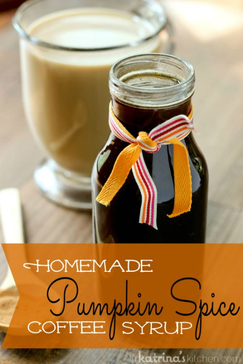 Pintesting Homemade Pumpkin Spice Coffee Syrup