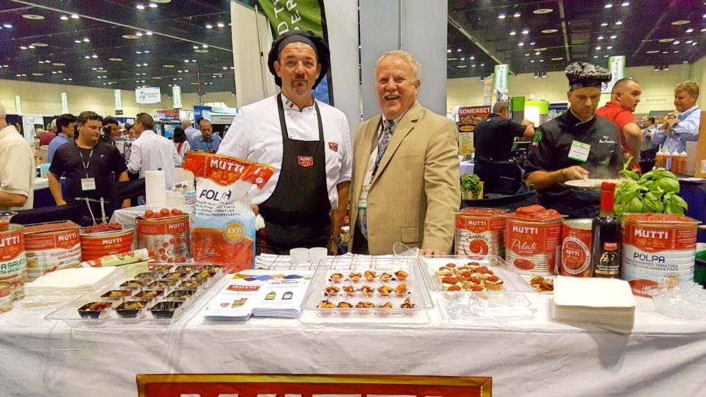 2016 Florida Restaurant & Lodging Show Mutti Exhibit