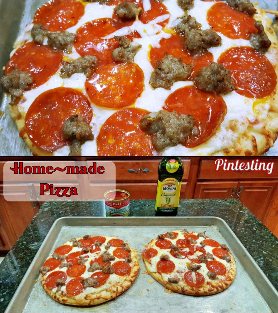 Pintesting Monini Mutti Pizza