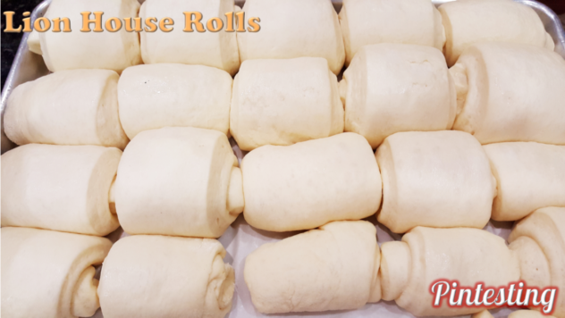Pintesting Lion House Rolls
