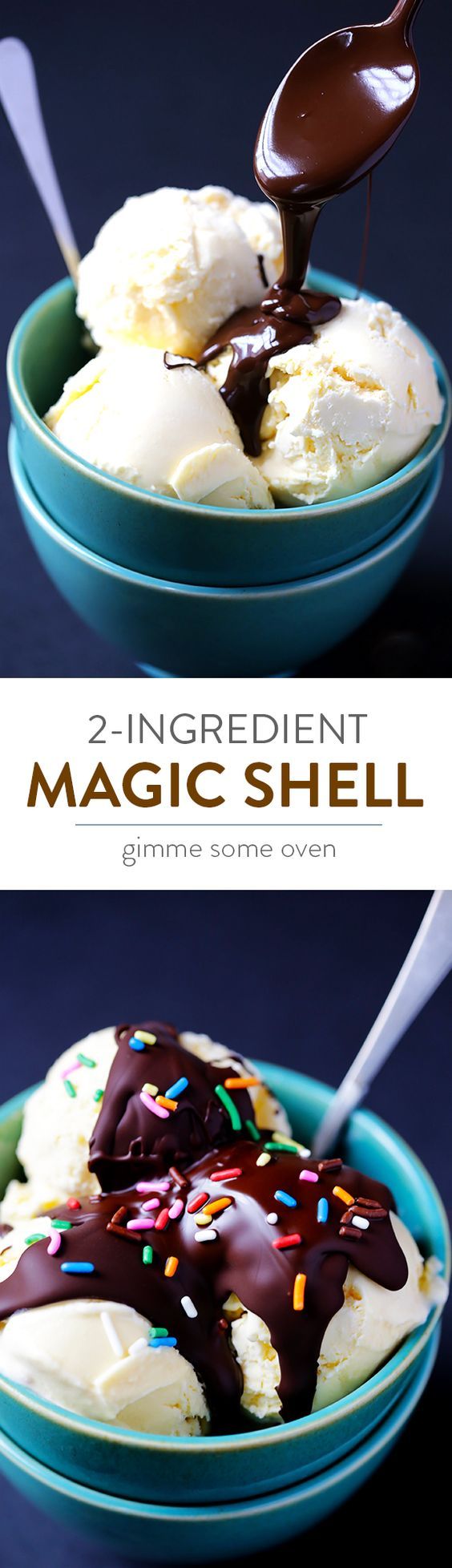 Pintesting Homemade Magic Shell