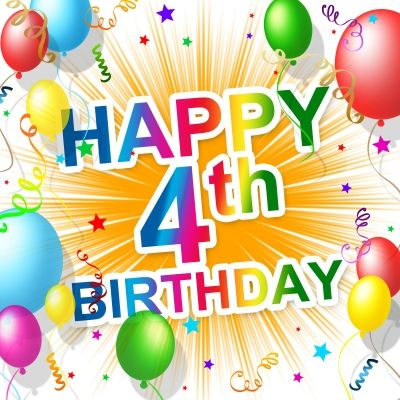 Happy 4th Birthday Pintesting