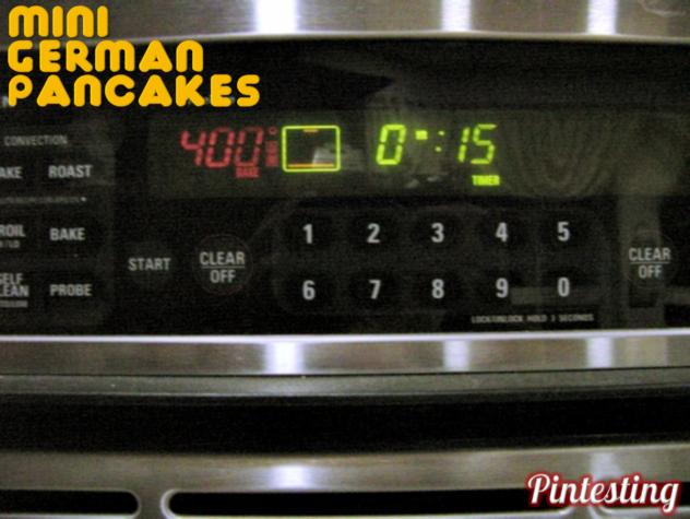 Pintesting German Pancakes