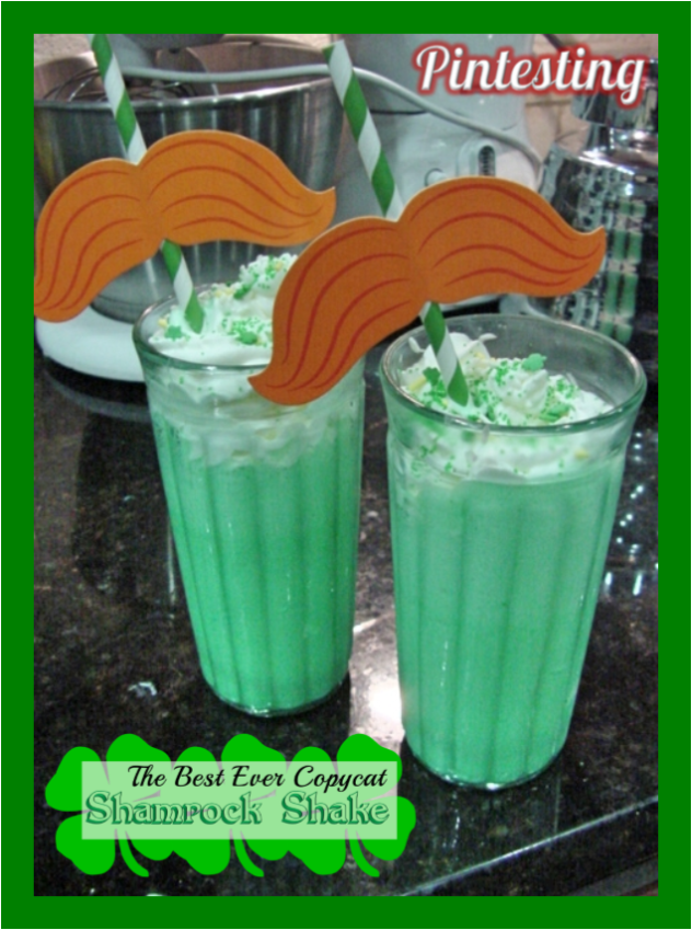 Pintesting Best Ever Copycat Shamrock Shake