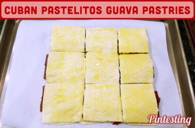 Pintesting Cuban Guava Pastries - Pastelitos de Guayaba