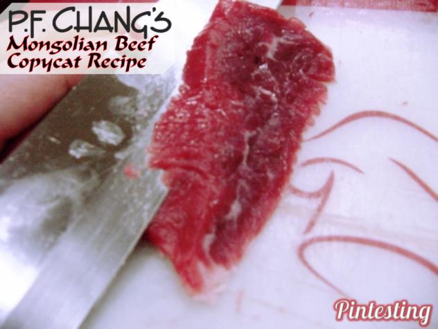 's Mongolian Beef Copycat Recipe