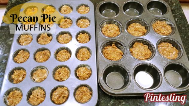 Pintesting Pecan Pie Muffins